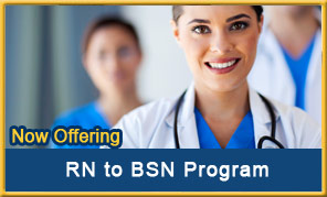 Now Offering: RN to BSN Program